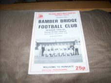 Bamber Bridge v Maghull, 1990/91